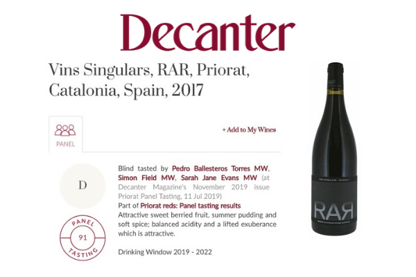 Decanter RAR
