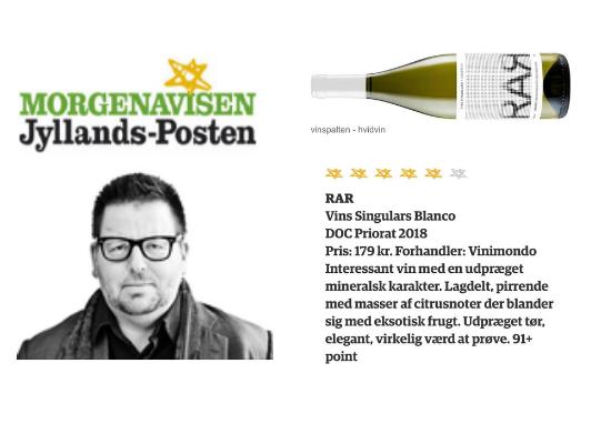 RAR Blanco Jyllands Posten